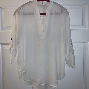 Lush white blouse shirt